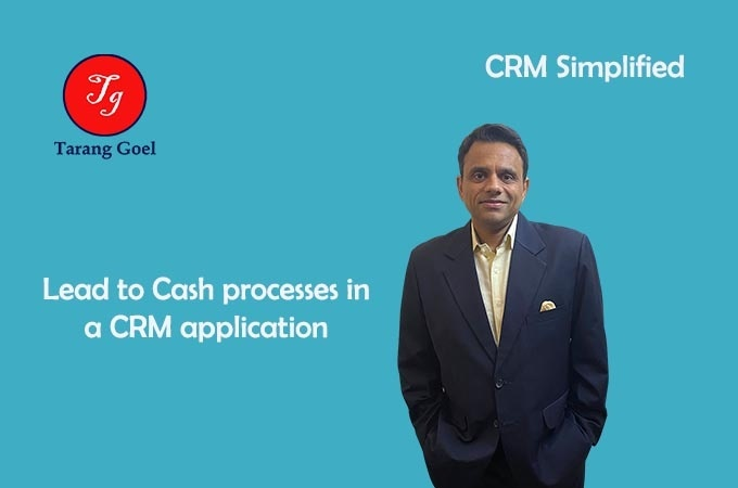 Lead to Cash processes in a crm application