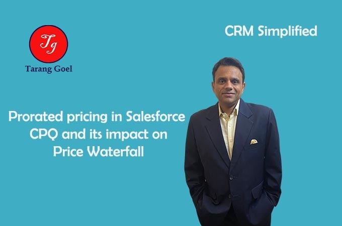 Prorated Pricing in Salesforce CPQ