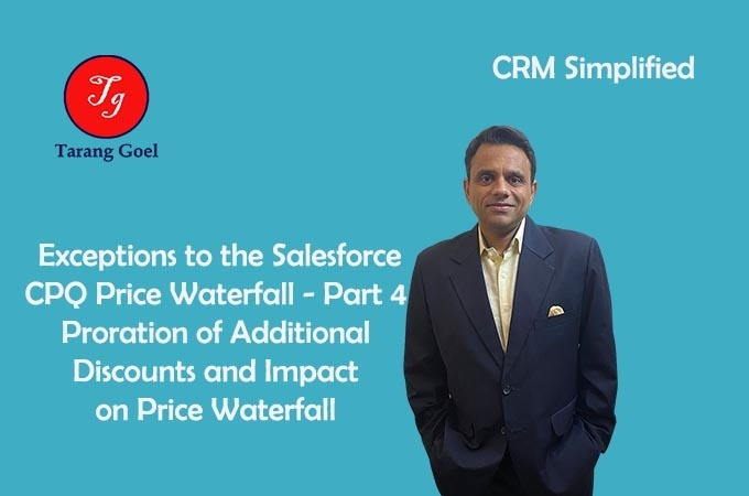 Exceptions to the Salesforce CPQ Price Waterfall