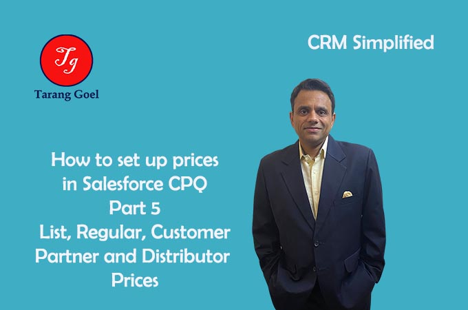 How to set Prices in Salesforce CPQ Part 5
